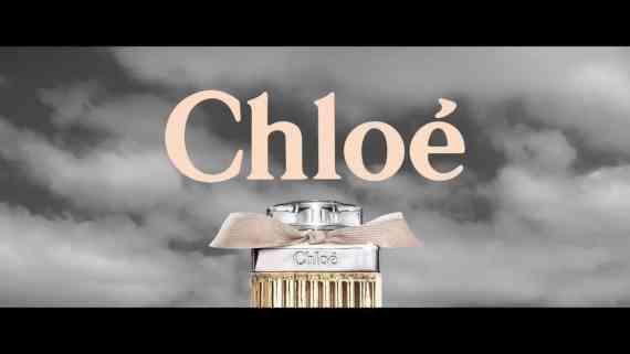 Screenshot aus Chloé Werbung