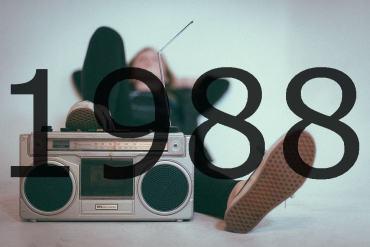 Altes Radio 1988