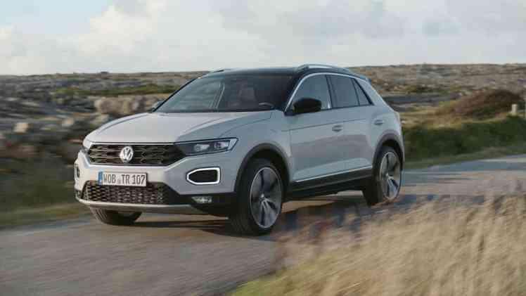Screenshot aus Volkswagen T-Roc Werbung