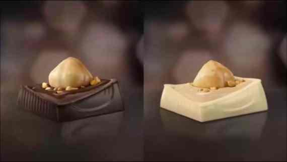 Screenshot aus Ferrero Küsschen Werbung