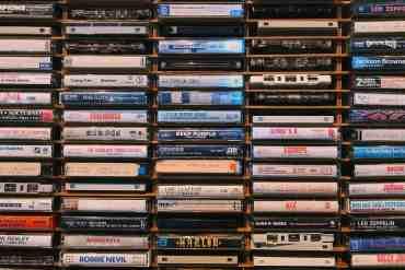 80er Jahre Kassetten
