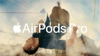 Screenshot aus der Apple AirPods Pro Werbung