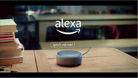 Screenshot aus der Alexa Werbung