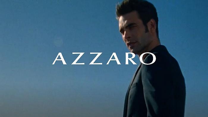 Screenshot aus der Azzaro Werbung