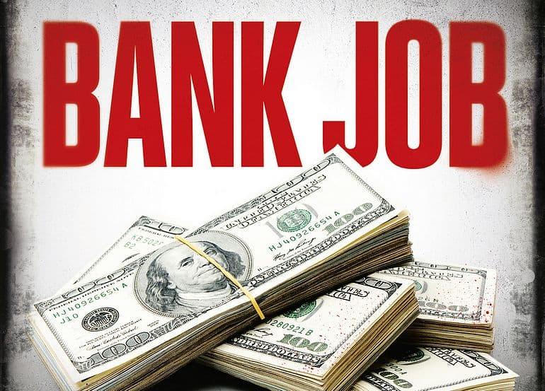 Filmposter Bankjob