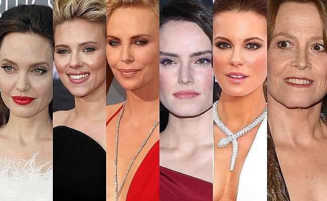 weibliche Action-Stars