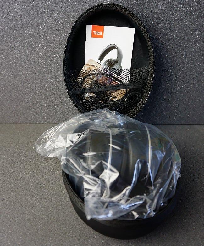 Tragetasche Tribit XFree Tune Bluetooth Kopfhörer