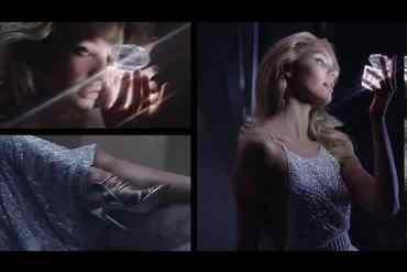 Screenshot aus der Bright Crystal by Versace Werbung