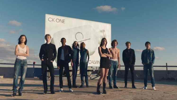 Screenshot aus Calvin Klein CK One Werbung