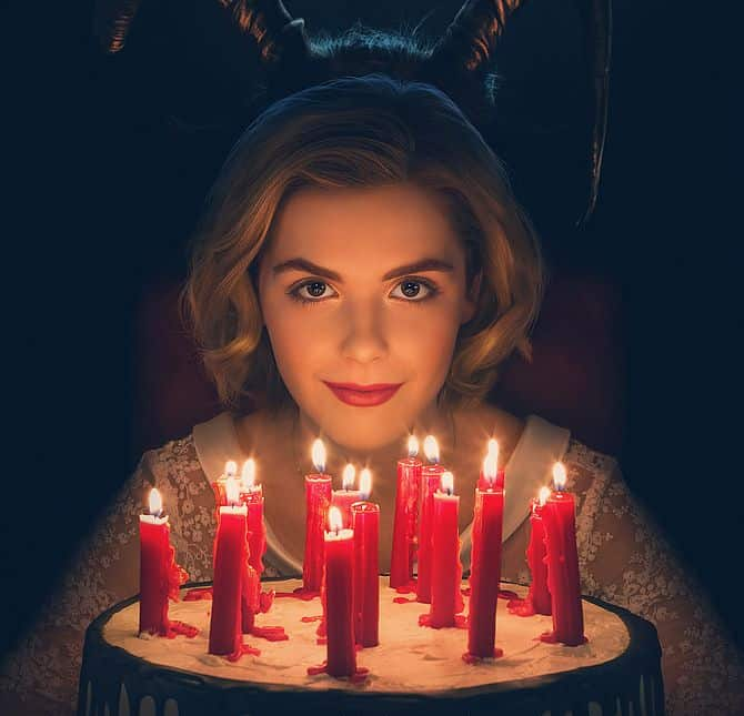 Chilling Adventures of Sabrina Netflix-Poster