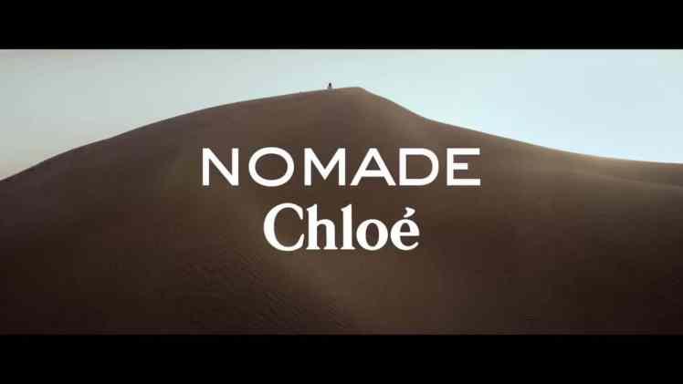 Screenshot aus Chloé Nomade Werbung