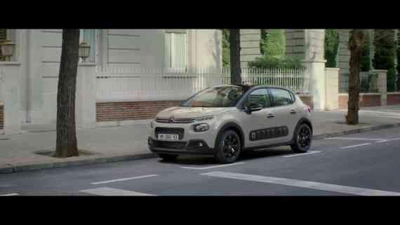 Screenshot aus Citroën C3 Werbung