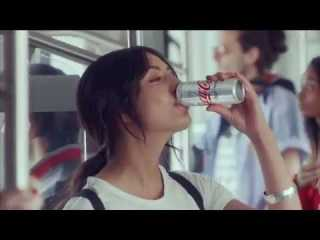 Screenshot aus Coke Light Taste Werbung