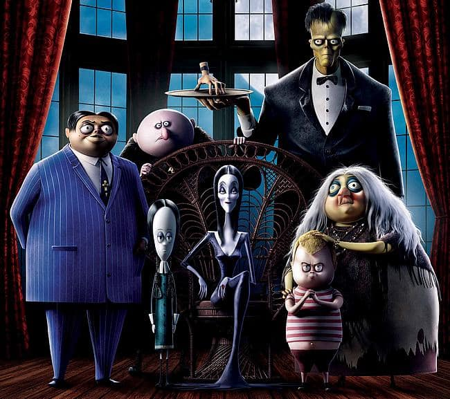 Die Addams Family Filmposter