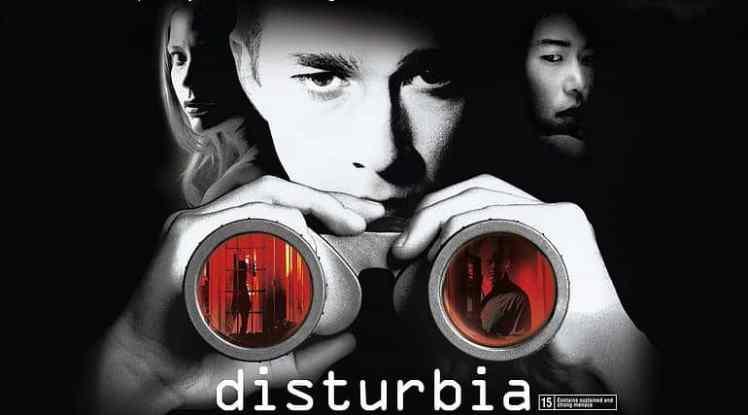 Filmposter Disturbia