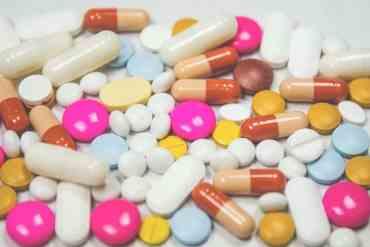 Bunte Tabletten