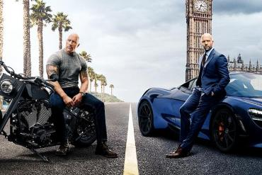 Filmposter Fast & Furious: Hobbs & Shaw
