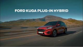 Screenshot aus der Ford Kuga Plug-In Hybrid Werbung