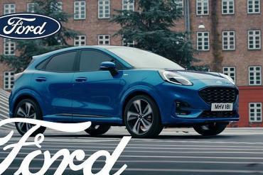 Screenshot aus der Ford Puma Hybrid Werbung