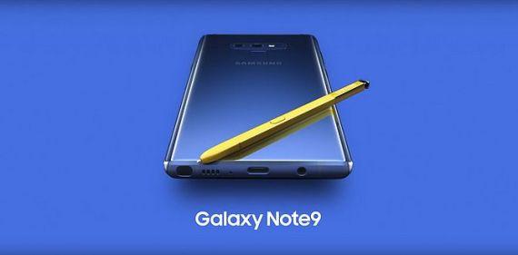 Screenshot aus Samsung Galaxy Note 9 Werbung