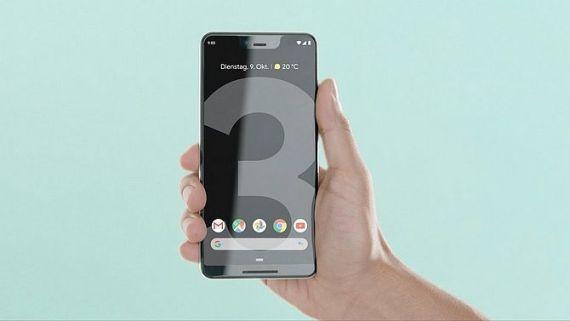 Screenshot aus Google Pixel 3 Werbung