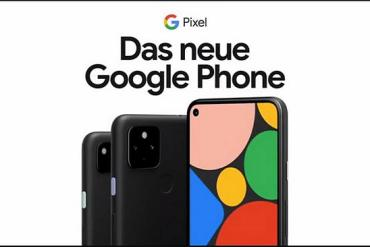 Screenshot aus der Google Pixel Phone Werbung