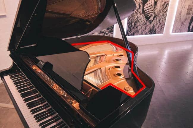 Gussrahmen Klavier