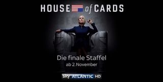Screenshot aus House of Cards Werbung