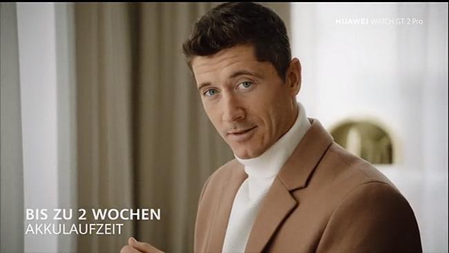 Screenshot aus der Huawei Watch GT 2 Pro Werbung