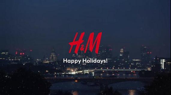 Screenshot aus der H&M Werbung 2019