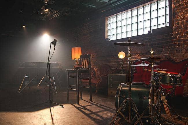 Bühne in einem Pub