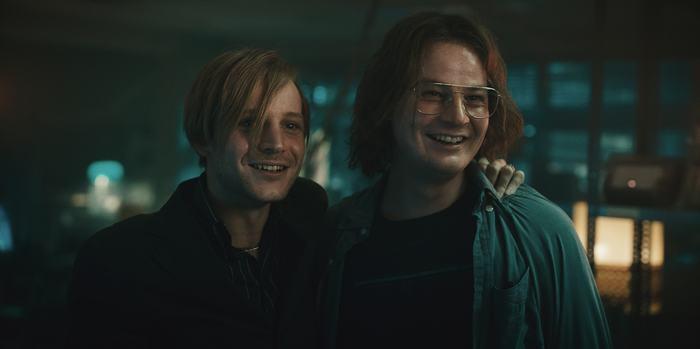 Juri und Carsten in The Billion Dollar Code