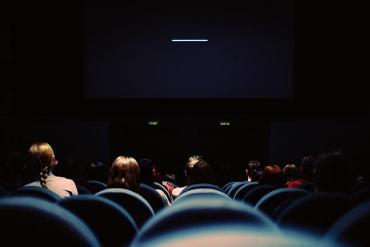 Kinosaal mit Zuschauern