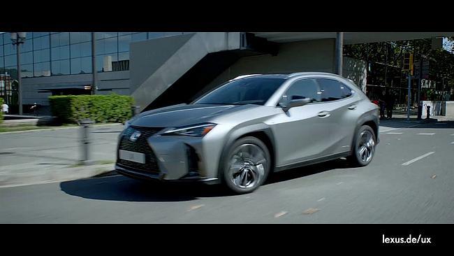 Screenshot aus Lexus UX Hybrid Werbung