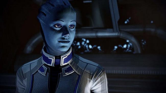 Liara aus Mass Effect
