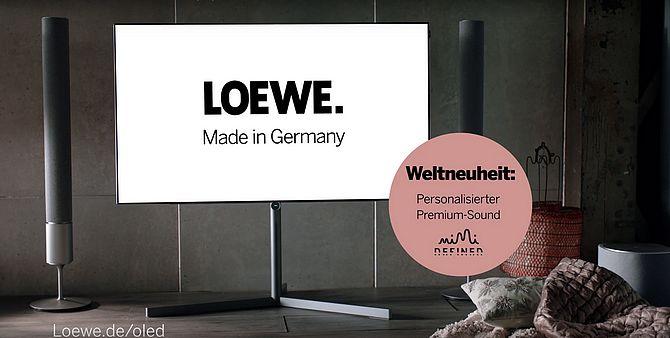 Screenshot aus Loewe Werbung
