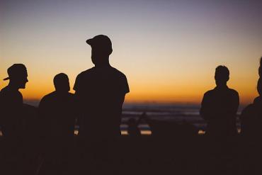 Männer-Gruppe