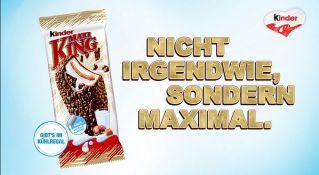 Screenshot aus Maxi King Werbung