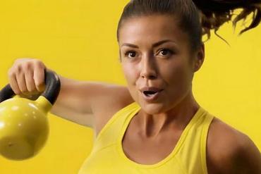 Screenshot aus der McFit Werbung