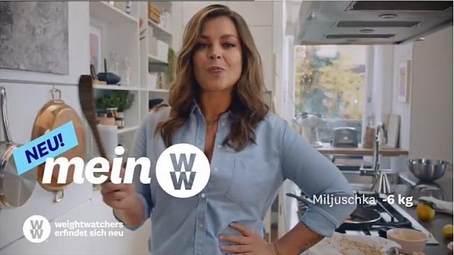 Screenshot aus der Mein WW Werbung