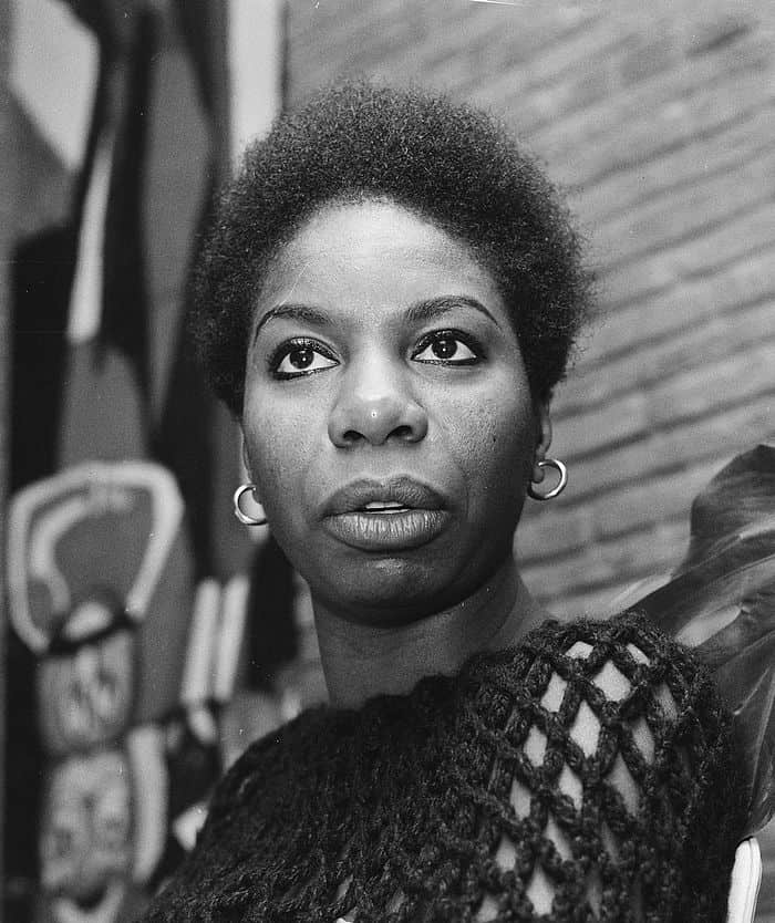 "Kroon, Ron / Anefo, <a href=""https://commons.wikimedia.org/wiki/File:Nina_Simone_1965.jpg"">Nina Simone 1965</a>, <a href=""https://creativecommons.org/licenses/by-sa/3.0/nl/deed.en"">CC BY-SA 3.0 NL</a>"