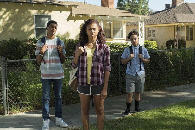 """Bild aus der Netflix-Serie """"On My Block"""""""