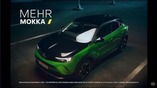 Screenshot aus der Opel Mokka Werbung
