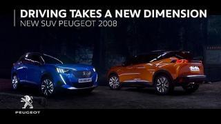 Screenshot aus der Peugeot 2008 Werbung
