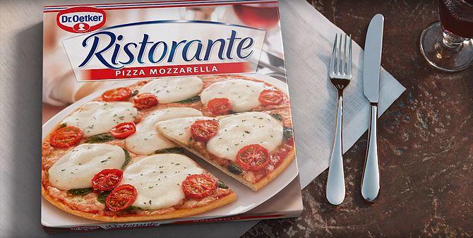 Screenshot aus Dr. Oetker Pizza Ristorante Werbung