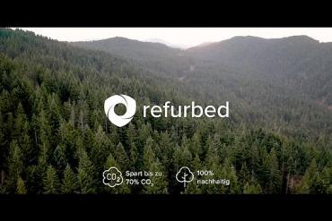 Screenshot aus der Refurbed Werbung