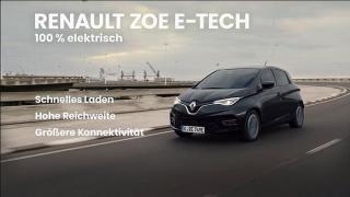 Renault Zoe E-Tech Werbung