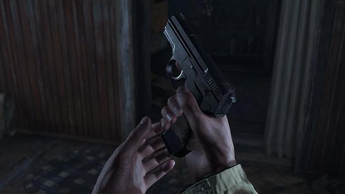 Resident Evil Village Pistole