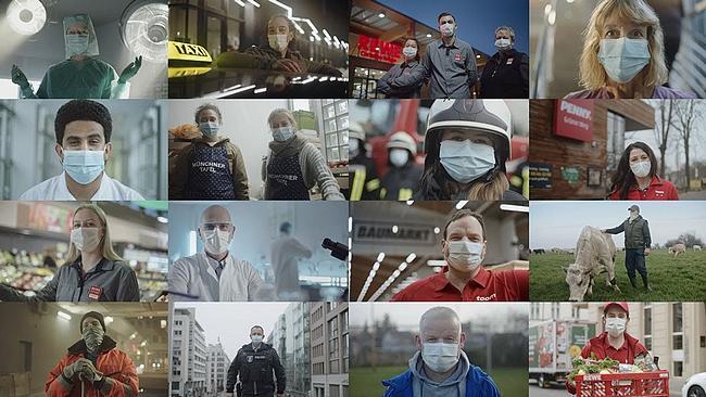 Screenshot aus dem Rewe TV Spot