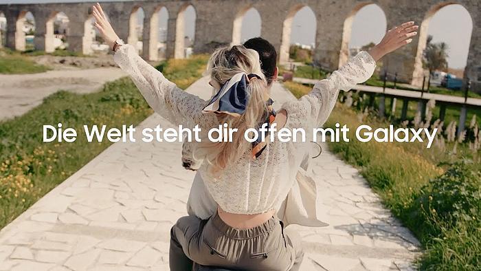 Screenshot aus der Samsung Galaxy Werbung 2021